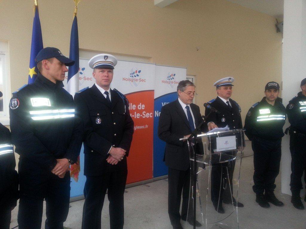 Police municipale de noisy le sec inauguration - Grilles indiciaires police municipale ...